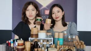 Popular bamboo cosmetic packaging
